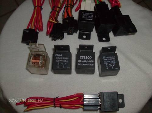 Rele Y Conector 5 Patas 12v 30-40 Amp