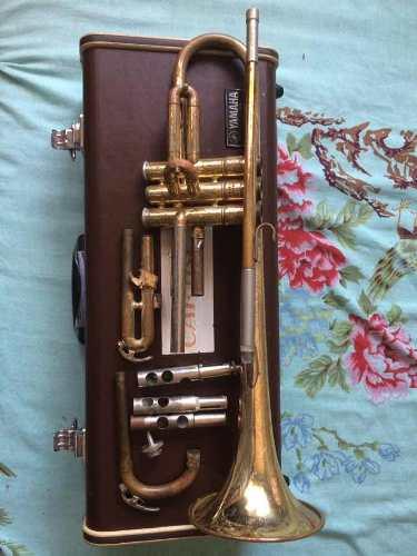 Trompeta Yamaha Para Reparar O Repuesto Con Estuche Duro