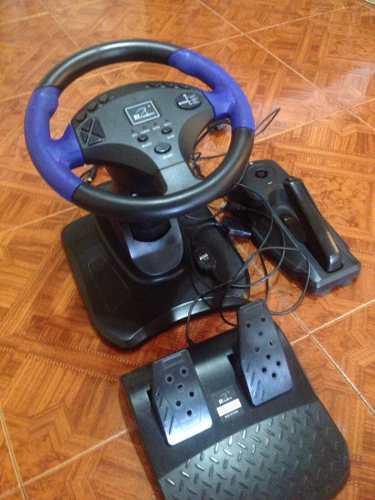 Volante Gt4 Playstation 2 & 3 Ps2 Ps3 Pc Usb Usado