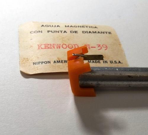 Aguja De Diamante Americana Kenwood N-39.5 Ver