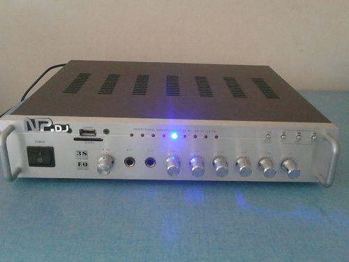 Amplificador Nippon (usb, Sd, Karaoke, Radio Fm)