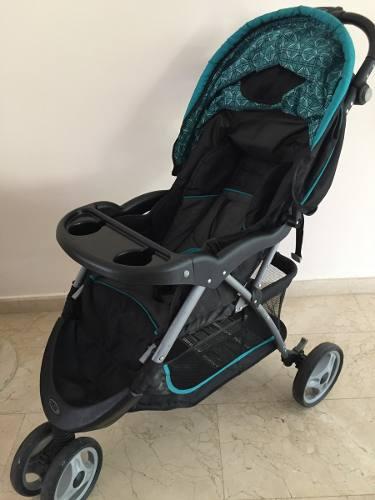 Coche Baby Trend. 3 Ruedas 130 Verdes