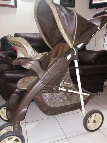 Coche Para Bebé + Porta Bebé / Graco / Excelente Estado