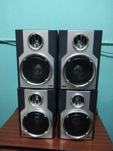 Cornetas Para Equipo De Sonido (mini Componente Rca)