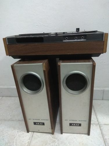 Equipo De Sonido De Cassette Antiguo Marca Akai
