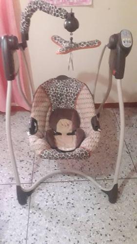 Porta Bebe Y Silla Mecedora Graco Para Bebe