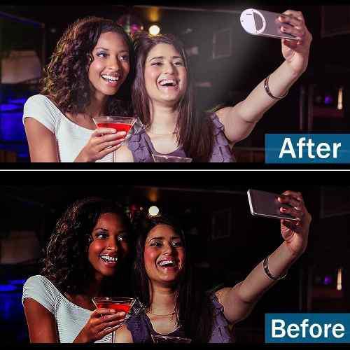 Anillo Aro Ring Selfie Con Luz Universal Celular Tienda Fisi
