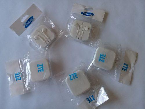 Audifonos Samsung Y Zte Para Celulares,tablets, Mp3, Mp4