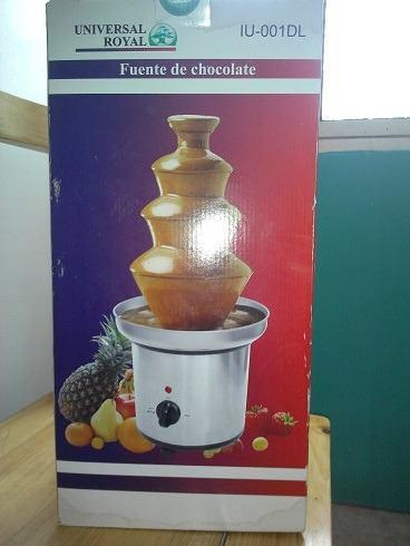 Fuente Chocolate Eurochef 4 Pisos