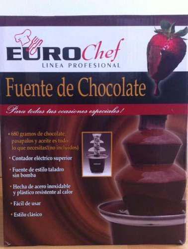 Fuente De Chocolate Euro Chef