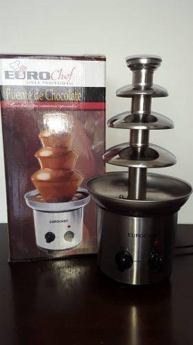 Fuente De Chocolate Eurochef 4 Niveles