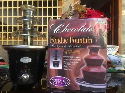 Fuente De Chocolate(Nostalgia Electrics)