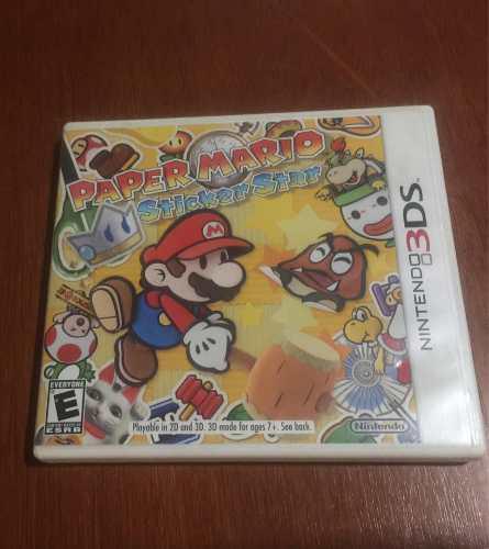 Juego Nintendo 3ds Paper Mario