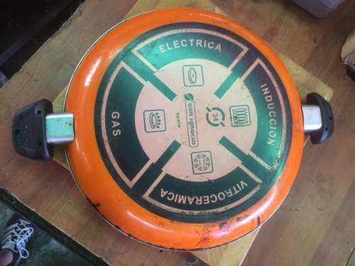 Paellera Sarten 34 Cm San Ignacio Vitroceramica Gas Electric