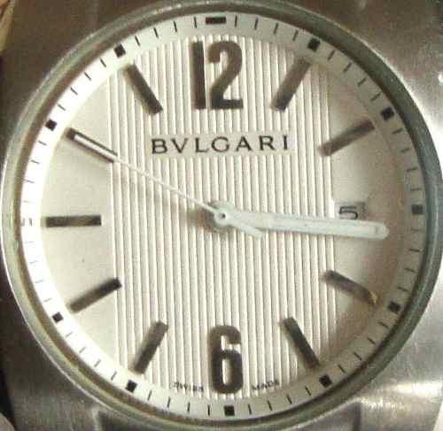 Reloj Bvlgari Sd38s L  Original Impecable Casi Nuevo