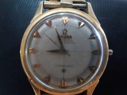 Reloj Omega Modelo Constellation De Oro 18k