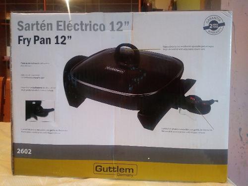 Sarten Electrico 12 Marca Alemana Guttlem