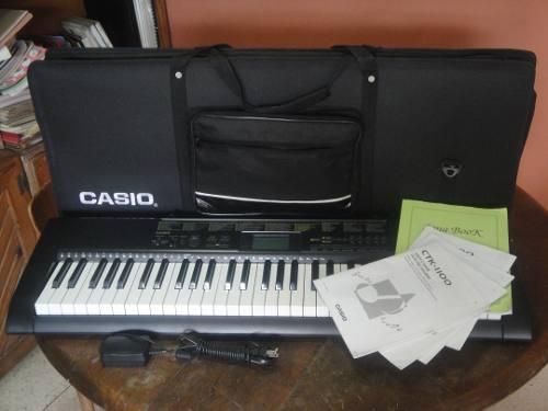 Teclado Casio Ctk  De 5 Octavas