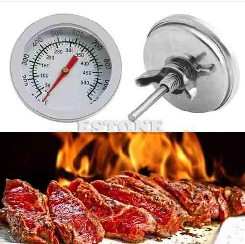 Termometro De Horno Parrilla 50° Hasta 500° Acero