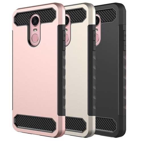 Forro Hibrido Case Doble Samsung J2 Core J260 Antigolpes