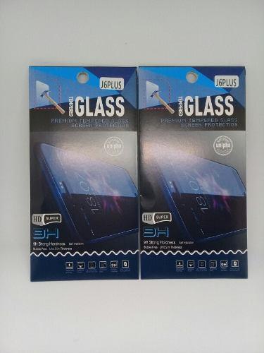 Lamina De Vidrio Templado Samsung J6 Plus Somos Tienda Fisic