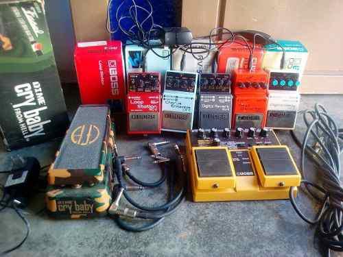 Pedales De Guitarra Boss Usados