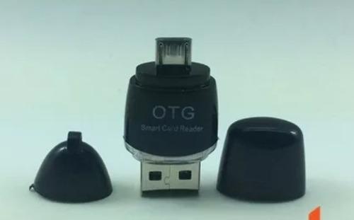 Adaptador Otg Usb A Micro Usb Con Lector De Memoria