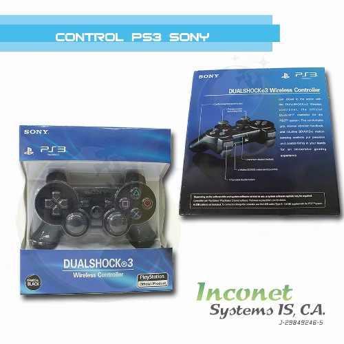 Control Inalámbrico Dualshock 3 Para El Playstation 3 Inco