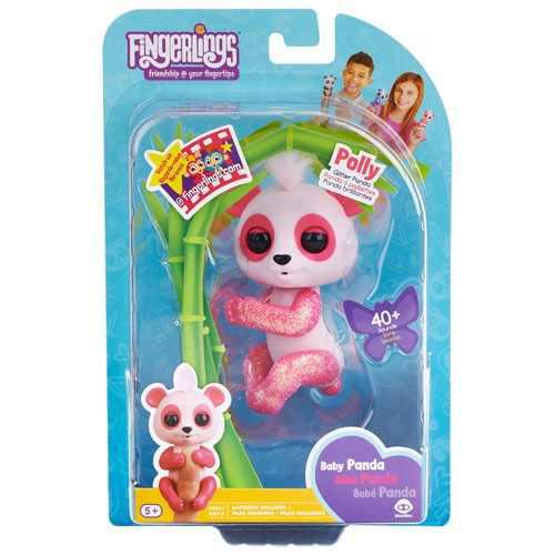 Fingerlings Panda Interactivo Bebe Panda