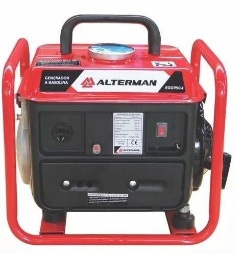 Generador Electrico (planta) 980w 120v Con Chasis Alterman