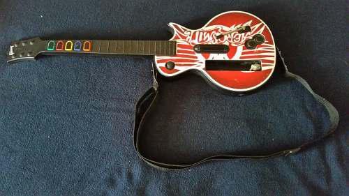 Guitarra De Wii Edicion Guitar Hero Original
