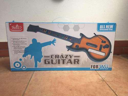 Guitarra Para Wii, Usada