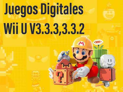 Juegos Digitales Para Wii U