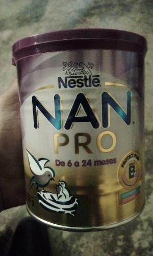 Leche Nan Pro De 0 A 6 Meses Y De 6 A 24 Meses Vence