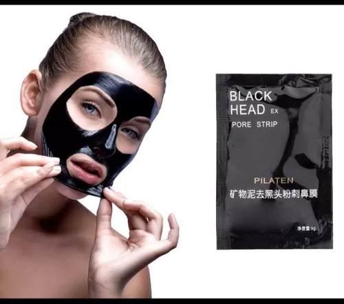 Mascarillas Black Head Pilaten Para Puntos Negros 06 Pack