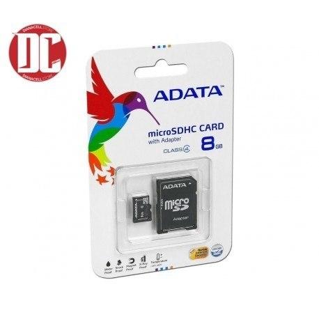 Memoria Micro Sd  Gb Adata Con Blister Sellada