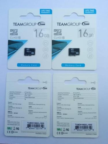 Memoria Team Group Micro Sd 16gb & 32gb