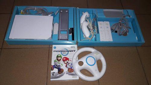 Nintendo Wii Original + Tabla Wii Fit+ Todos Sus Accesorios