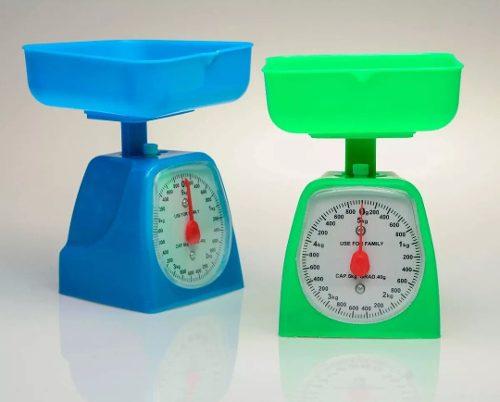 Peso Analogico De 5kg Balanza Cocina 5k Con Bandeja 5kilos
