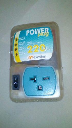 Protector De Voltaje 220v Exceline Power Plug