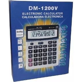 Calculadora Casio Dm-v 12 Digitos. Mayor Y Detal.