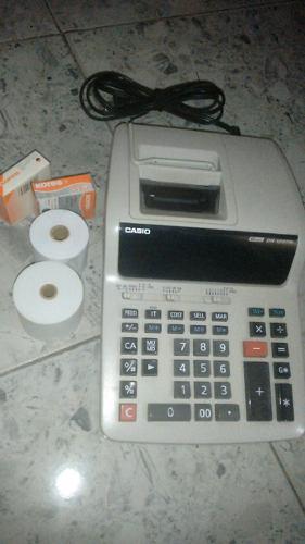 Calculadora E Impresora Casio Modelo T Dígitos