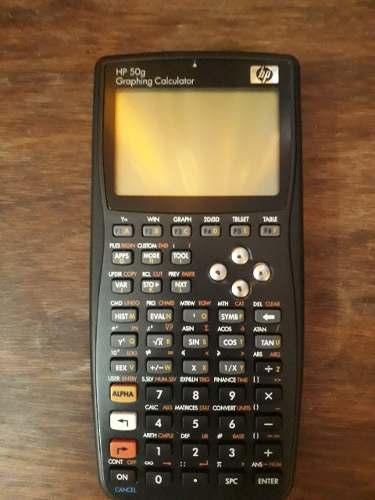 Calculadora Hp 50g Usada Como Nueva Con Todos Sus Accesorios