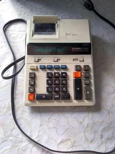 Calculadora Vintage Casio De Impresión. Poco Uso.