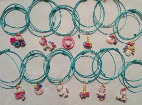 Collar De Unicornio, Moana, Masa Flexible Precio 1/2 Docena