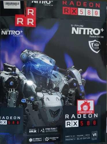 Tarjeta De Video Sapphire Nitro+ Rx580 Radeon 4gb En Barinas