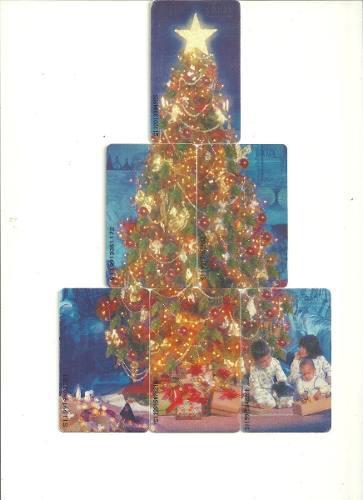 Tarjetas Cantv Serie El Arbol De La Esperanza, Navidad 1999