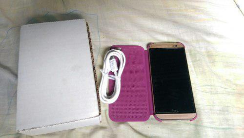 Telefono Htc One M8 2gb Ram Excelente Estado Con Forro Htc