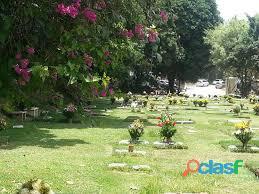 Vendo parcela de dos (2) puestos en Cementerio del Este