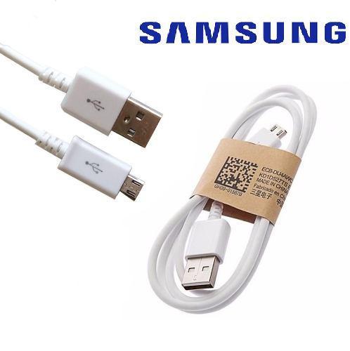 Cable Micro Usb Samsung Cargador Y Datos Carga Rapida Nuevo